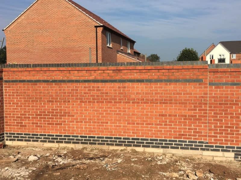 new perimeter wall