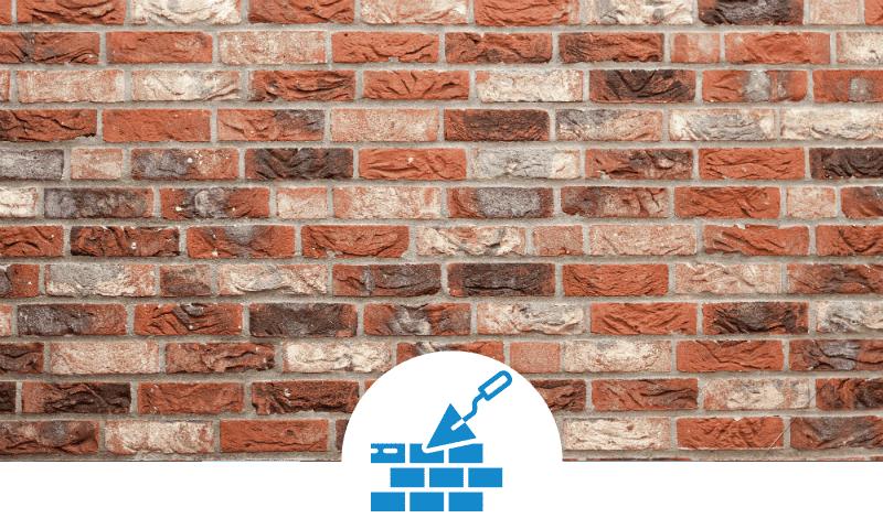 brick wall banner